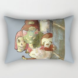 kawaii squad sloth catcorn unicat and friends! Rectangular Pillow