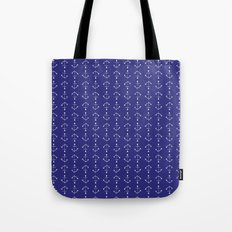 Mini Anchors Tote Bag