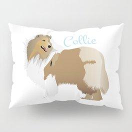 Graceful Rough Collie Pillow Sham