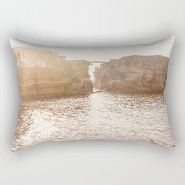 Gaiola bay at sunset, Naples, Italy Rectangular Pillow