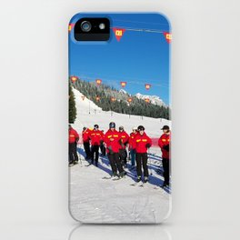 Webbski Instructors iPhone Case