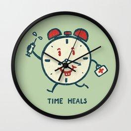 Time heals Wall Clock