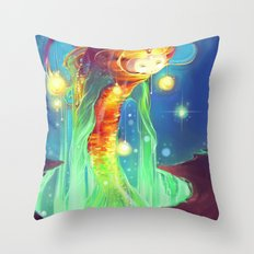 Convoy of lost children Throw Pillow