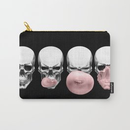 Skulls chewing bubblegum Carry-All Pouch