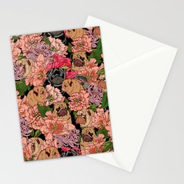 Because Pugs Stationery Cards
