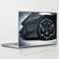lamborghini Laptop & iPad Skins featuring Lamborghini Sesto Elemento  by Spyck