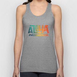 Aloha - We are Mauna Kea Unisex Tank Top