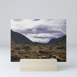 Valley view Mini Art Print