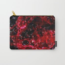 Red Geometric pattern 251217 Carry-All Pouch