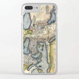 Ottoman Empire 1570 Clear iPhone Case