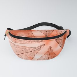 Crystal Leaves 5 Fanny Pack