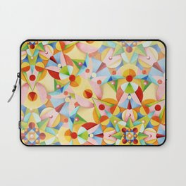 Pastel Geometric Laptop Sleeve