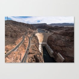 The Hoover Dam Canvas Print