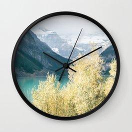 Lake Louise III Wall Clock