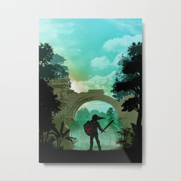 The Legend of Zelda - Link | Warriors Landscapes Serries Metal Print