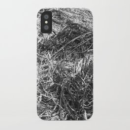Straw ashes ~hai~ iPhone Case