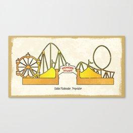 Wonder Wharf Canvas Print