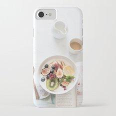 breakfast #buyart #society6 Slim Case iPhone 8