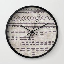 linen jamila Wall Clock