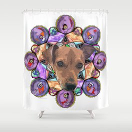 this is lenny Shower Curtain