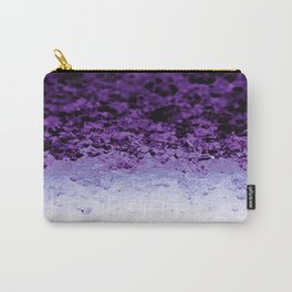 Purple Crystal Ombre Carry-All Pouch