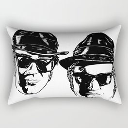 The Blues Brothers - Can You See The Light? Rectangular Pillow