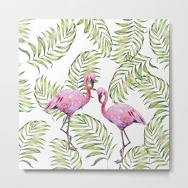Flamingo  #society6 #buyart Metal Print
