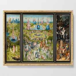 Hieronymus Bosch's The Garden of Earthly Delights Serving Tray