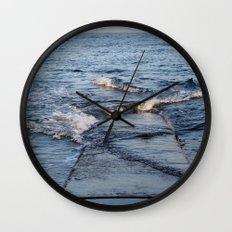 Crossing Paths Wall Clock