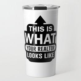 Realtor Seller Agent Real Estate Salesperson Travel Mug