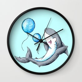 Bubble Balloons! Wall Clock