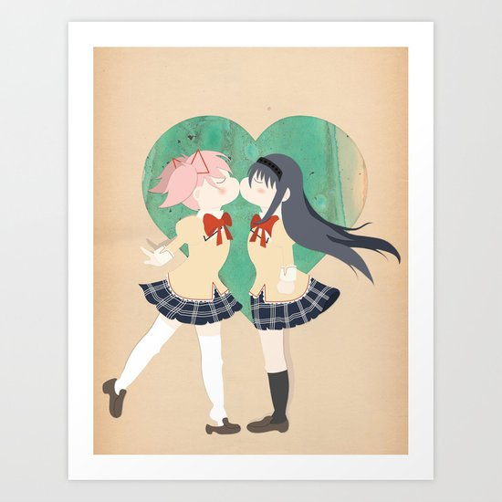 Papercraft Lovers Art Print