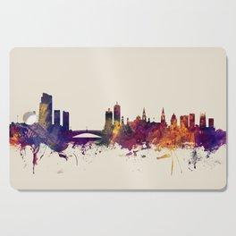 Leeds England Skyline Cutting Board