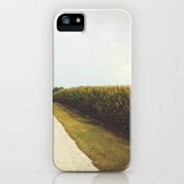 Indiana Corn Field Summers iPhone Case