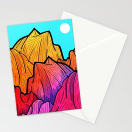 Summer top hills Stationery Cards