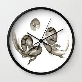 Kumonryu Koi Wall Clock