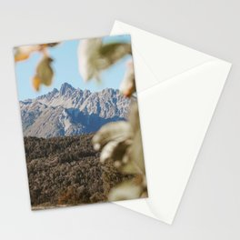 Los Andes in autumn Stationery Cards