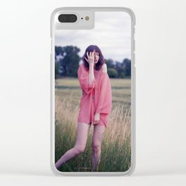 Big Girls Cry Clear iPhone Case