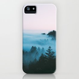Foggy Marin Sunset iPhone Case