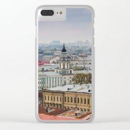 Saint Petersburg , Russia Clear iPhone Case