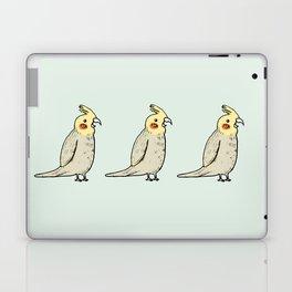Happy Cockatiel Laptop & iPad Skin