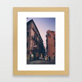 Scrape The Sky Framed Art Print