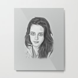Kristen Stewart Metal Print
