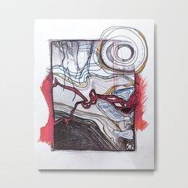 Under the ground Metal Print