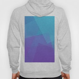 Purple Geometry Hoody