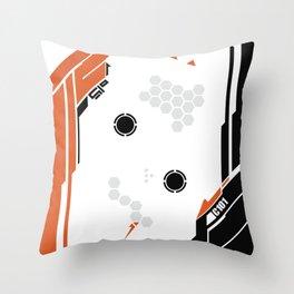 Titanfall skin Throw Pillow