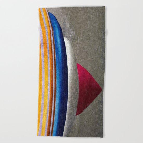 Superkreisel Beach Towel