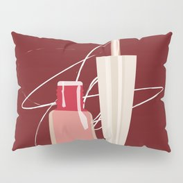 When Red Meets RED Pillow Sham