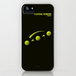 The LATERAL THINKING Project - Avance iPhone Case