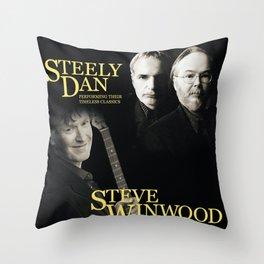 STEELY DAN TIMELESS CLASSICS TOUR DATES 2019 RISOL Throw Pillow